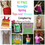 10 Beautiful Spring Tops n Dresset pattern roundup