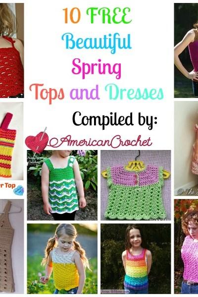 10 Beautiful Spring Tops n Dresset pattern roundup