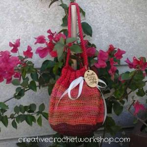 Orangewood Anywhere Bag | Free Crochet Pattern | Creative Crochet Workshop @creativecrochetoworkshop.com @americancrochet.com #freecrochetpattern