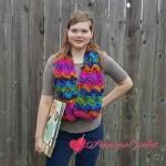 AC-Carnival Promenade Scarf free crochet pattern