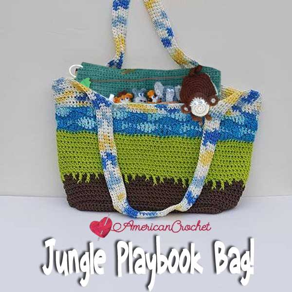 Jungle Playbook Bag!