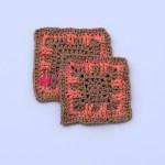 Luna Coaster free crochet pattern
