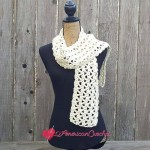 Marshmallow Scarf free crochet pattern