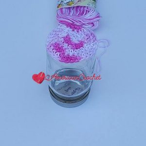 Strawberry Truffle Jar Cozy