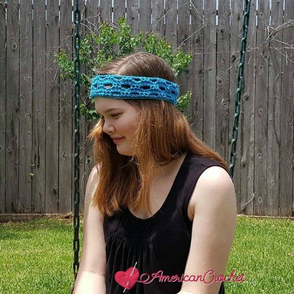 Fashion Arch Headband ~ Free Crochet Pattern