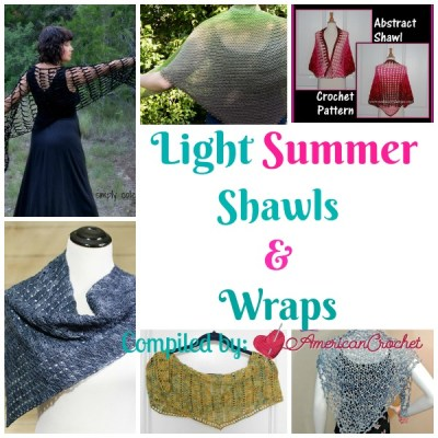 Light Summer Shawls & Wraps