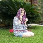 Madaline's Sunset Cowl free crochet pattern