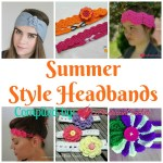 Summer Style Headbands free crochet pattern roundup