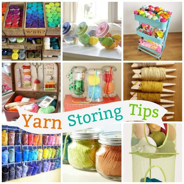 Yarn Storing Tips American Crochet Tips