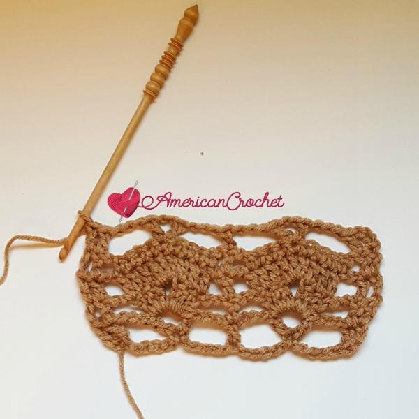 Delicato | Special Crochet Stitch | American Crochet @americancrochet.com #SpecialCrochetStitch