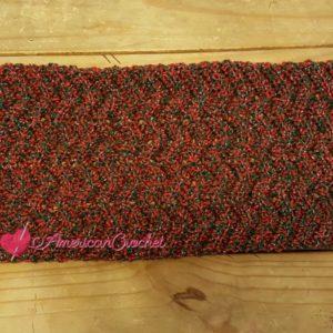 Ripple Table Runner | Free Crochet Pattern | American Crochet @americancrochet.com #freecrochetpattern