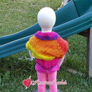 Cheyenne Shrug | Free Crochet Pattern | American Crochet @americancrochet.com #freecrochetpattern