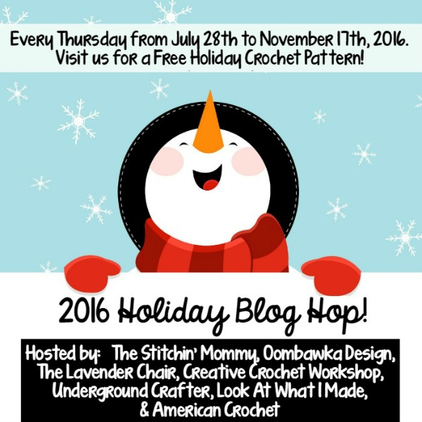 2016 Holiday Blog Hop | Free Crochet Patterns | American Crochet @americancrochet.com #freecrochetpatterns