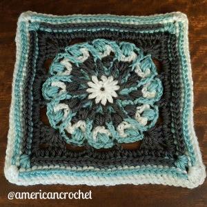 Nicole Circle in A Square | American Crochet @americancrochet.com