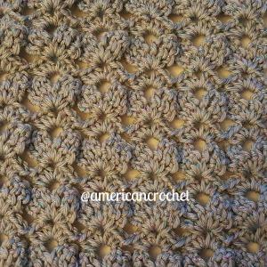 Romancing The Scarf Part Three   American Crochet @americancrochet.com