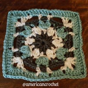 Carolyn Circle in A Square | American Crochet @americancrochet.com