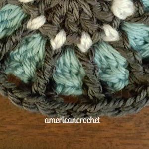 Catherine Circle in A Square | American Crochet @americancrochet.com