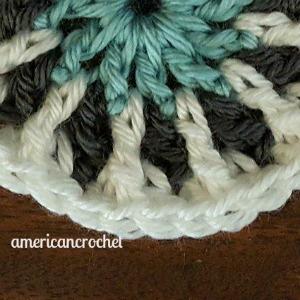 LILY MAE Circle in A Square | American Crochet @americancrochet.com