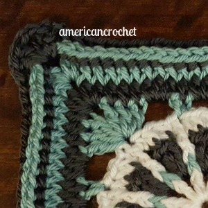 MARTHA Circle in A Square | American Crochet @americancrochet.com