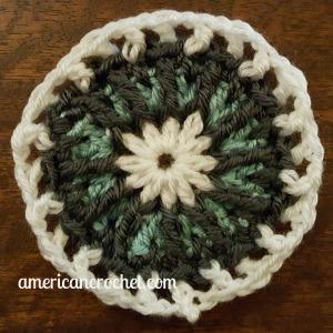 Abigial Circle in A Square   American Crochet @americancrochet.com