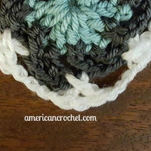Lindy Circle in A Square | American Crochet @americancrochet.com