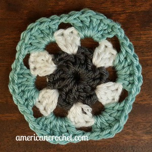 Rebecca Circle in A Square | American Crochet @americancrochet.com