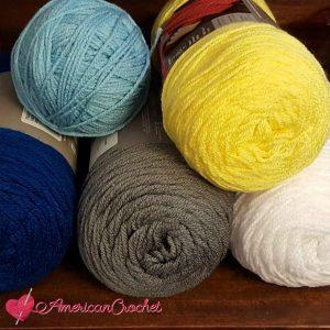 Ocean Medley Blanket | American Crochet @americancrochet.com #crochetalong