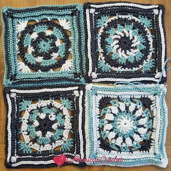 Joining the Gals | Free Crochet Pattern | American Crochet @americancrochet.com #freecrochetpattern #freecrochetalong
