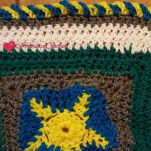 Ocean Medley Blanket Part Five | American Crochet @americancrochet.com #crochetalong