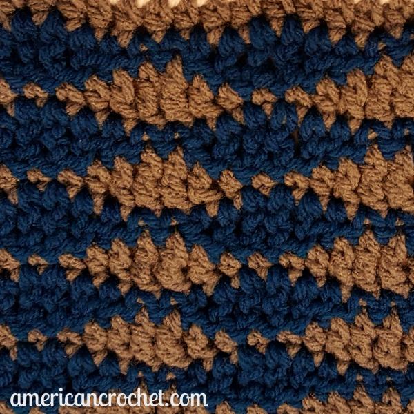 Ocean Medley Blanket Part Two | Crochet Pattern | American Crochet @americancrochet.com #crochetpattern #crochetalong