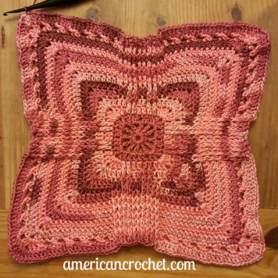Rosewood Baby Blanket Part Two