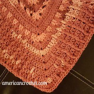 Rosewood Baby Blanket Part Four | Crochet Pattern | American Crochet @americancrochet.com #crochetpattern #crochetalong