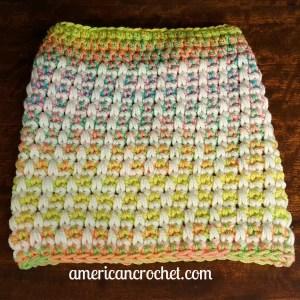 Magical Retro Christmas Stocking Part One | Crochet Pattern | American Crochet @americancrochet.com #crochetpattern #crochetalong