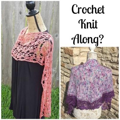 Who would like a crochet/knit along?