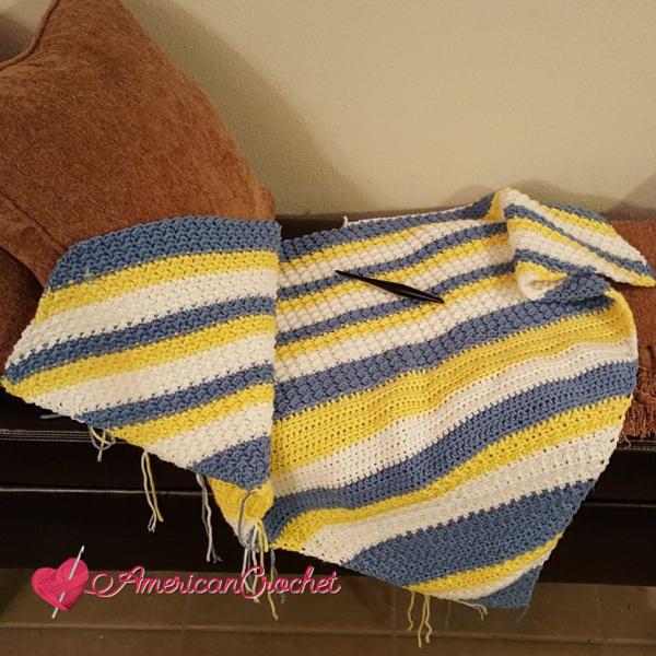 Special Memories Blanket Part Three | American Crochet @americancrochet.com #americancrochet #crochetalong