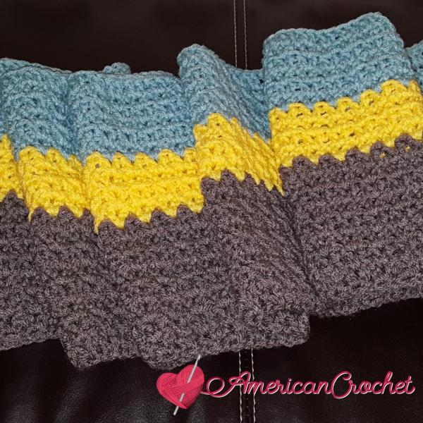 Winter Wonder Blanket Part One | American Crochet @americancrochet.com #americancrochet #crochetalong