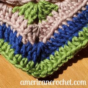 AC-RWS-CAL-Square Three | American Crochet @americancrochet.com #crochetalong