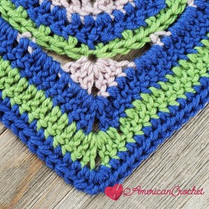 Stansberry Square | Crochet Pattern | American Crochet @americancrochet.com #crochetalong #crochetpattern