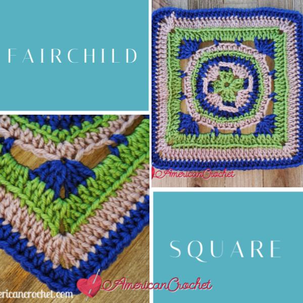 Fairchild Square   American Crochet @americancrochet.com