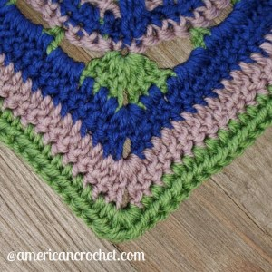 Stable Square | American Crochet @americancrochet.com #crochetalong