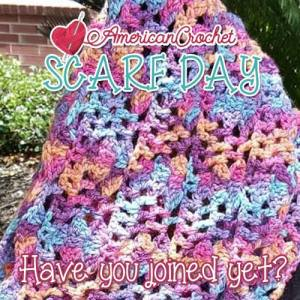 Scarf Day Bash   American Crochet @americancrochet #scarfdaybash