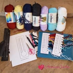 Temperature Color Swatch | American Crochet @americancrochet.com