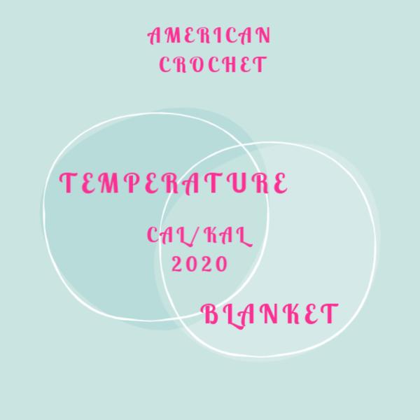 Temperature CAL/KAL 2020 | Crochet Along | Knit Along | American Crochet @americancrochet.com #crochetalong #knitalong