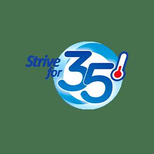 strive-for-35-logo