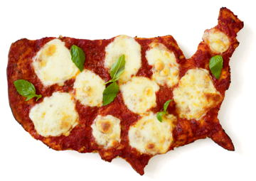 The Top 40: The United States of Pizzafication