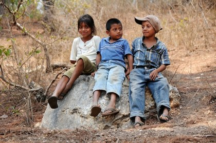 Latino, Latina, children representing Hispanic children