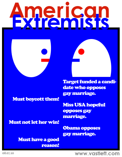 American Extremists - Targeted criticism