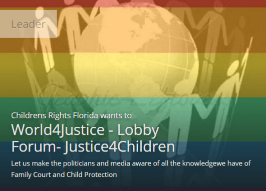 Causes - World4Justice - Lobby Forum- Justice4Children - 2015