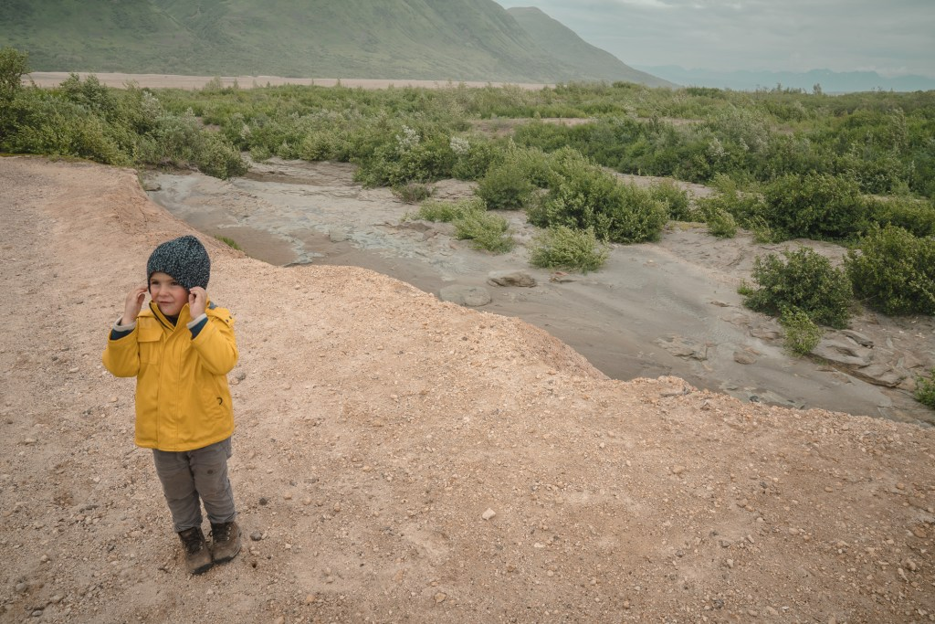valley of the 10,000 smokes in Katmai national park