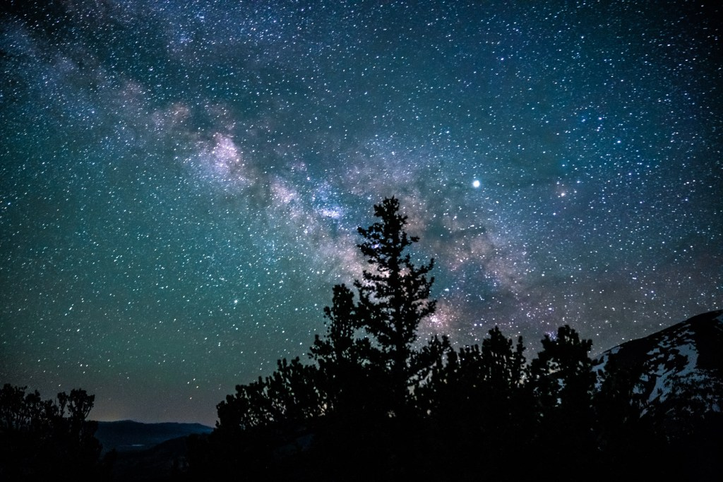 night sky in great basin national park